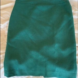 Beautiful green skirt by J. Crew